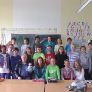 Der große Lesemarathon der Klasse 4 der Domschule